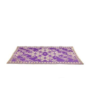 Alfombra violeta para exteriores e interiores