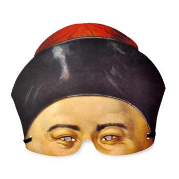 Set máscaras papel victorianas
