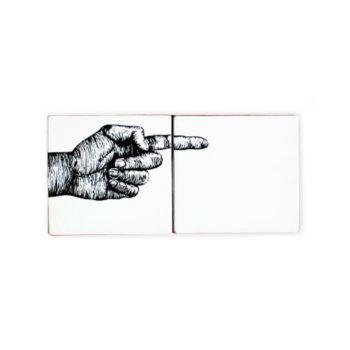 Hand indicator cerámica