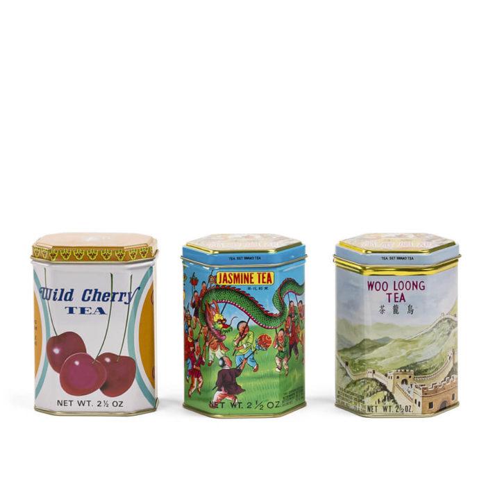 Set de cajas de té de la marca Kwong Sang