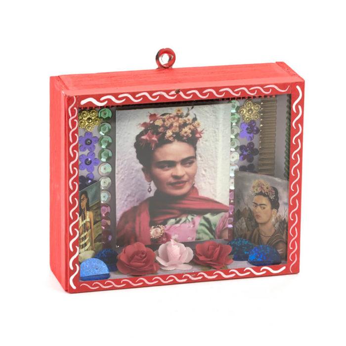 Caja decorada Frida