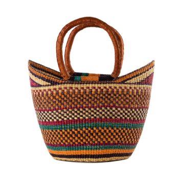 Bolgatanga shopping baskets, beautiful crafts from Africa