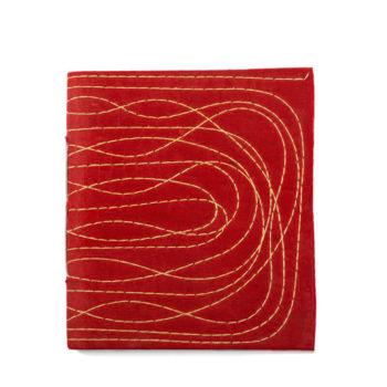 Cuaderno indio cosido