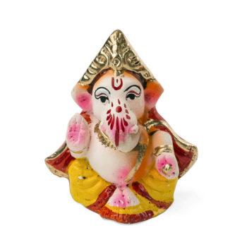 Ganesha ceramic figurine