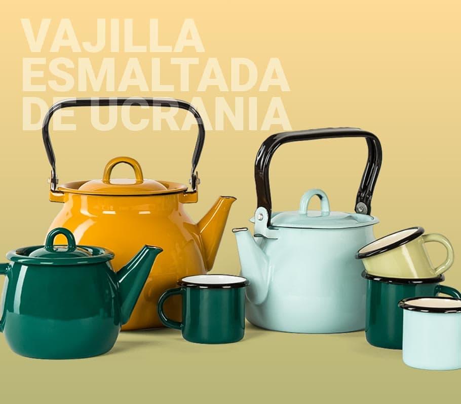 Buy enamelware from Spain
