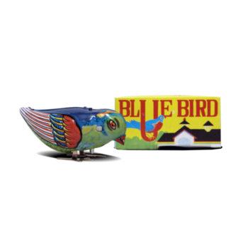 Pájaro picoteador hojalata