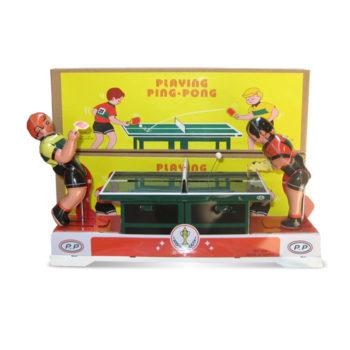 Ping pong de hojalata