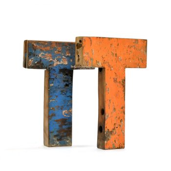 letras de madera para pared