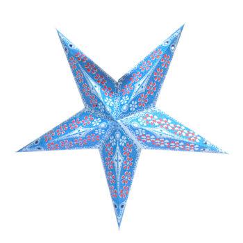 Lámpara estrella de papel