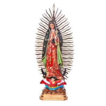 Estatua Virgen de Guadalupe 50 cm