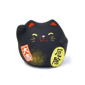 Gato de la suerte color negro