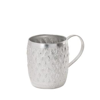 Taza aluminio con asa