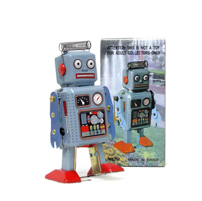 Robot estetica vintage