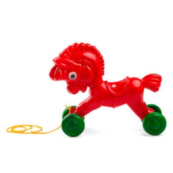 Caballo con ruedas