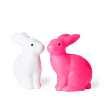 Lámparas con forma de conejo de la marca Heico