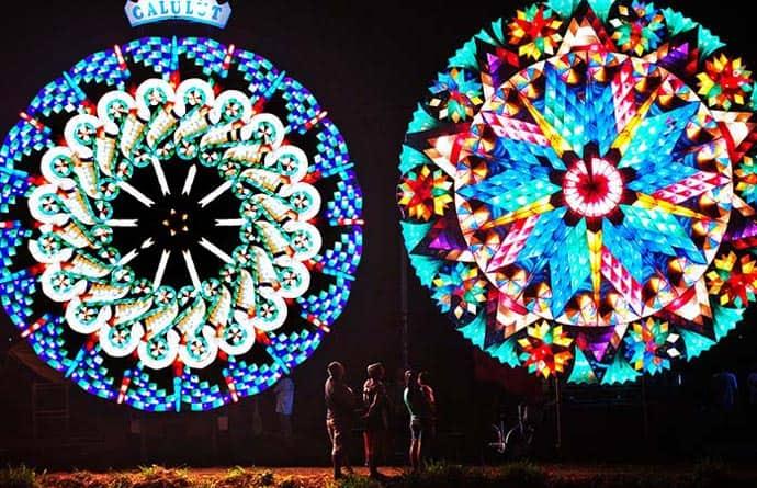 Festival de luces en San Fernando, Filipinas