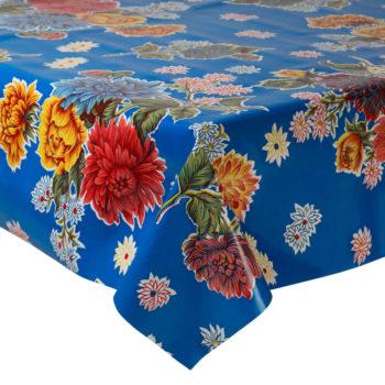 Mantel plastificado a medida con mucho color