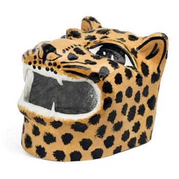 Cabeza cartón jaguar