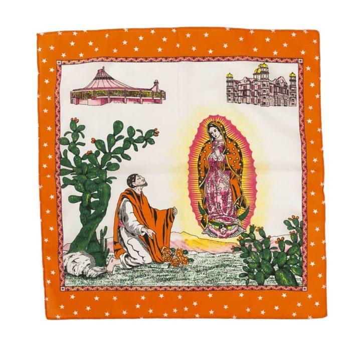 Pañuelo mexicano Guadalupe también llamado paliacate