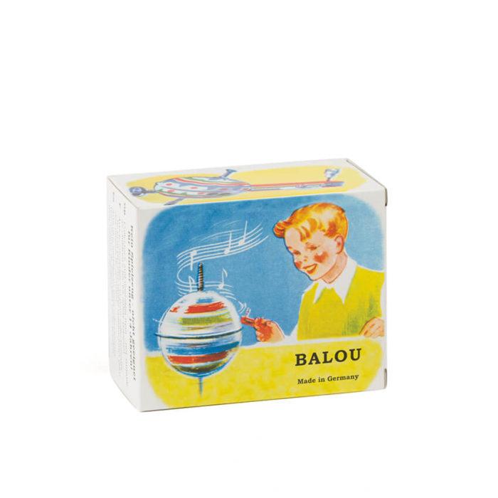 Balou Kreisel - peonza vintage fabricada en Alemania.