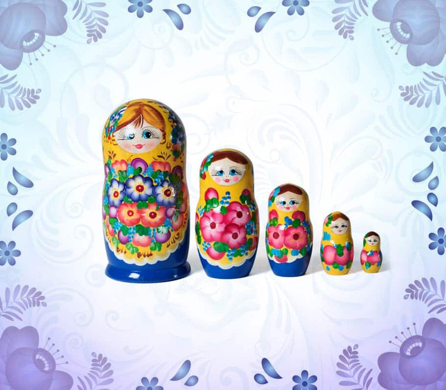 Matrioshkas rusas