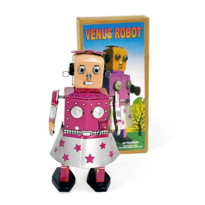 Robot Hojalata Venus