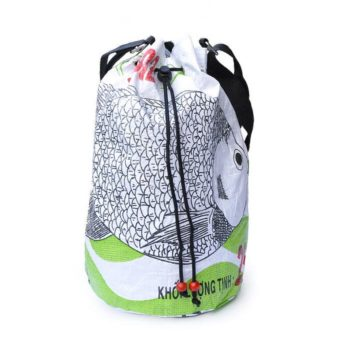Bolsa saco reciclado de Camboya