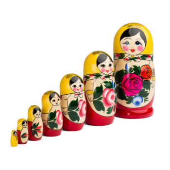 Matrioska tradicional 7 piezas